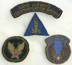 U.S. AIR FORCE PATCH GROUPING ARMY AIRWAYS COMMUNICATION SYSTEM THEATERS MADE