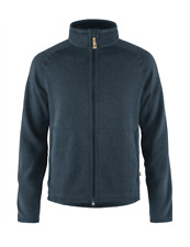 Ovik Fleece Zip Sweater - Navy