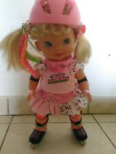 poupee baby roller blade