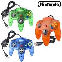 N64 For Nintendo 64 USB Wired Controller Joystick Joypad For PC MAC Retropie Pi