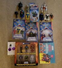 Justice League Unlimited lot of 25 loose and boxed/carded faction figures Flash