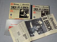 JETHRO TULL - THICK AS A BRICK / EMI 100 UK 1-CD-BOX-SET 1997 & ZEITUNG