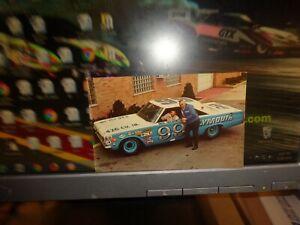1967 Paul Goldsmith-Ray Nichels No. 99 Plymouth Vintage NASCAR Postcard