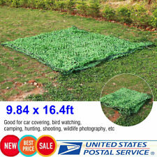 9.84 x 16.4ft Camping Jungle Camouflage Woodlands Camo Net Netting Cover Blinds