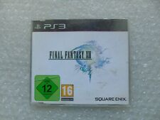 Final Fantasy XIII PS3 Promo Promotional rare PlayStation 3 Final Fantasy XIII