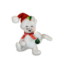 Annalee Dolls 2021 Christmas 4in Kitty with Ornament Plush New with Tag