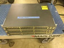 3 Catalyst Cisco Ws-C3750-48Ps-S 48-Port PoE 3750 Ethernet Switches
