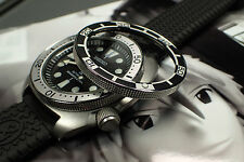 SEIKO NEW TURTLE CUSTOM BEZEL - THE.ATLAS.ONE - ST.STEEL  - POLISHED NTD-3-P