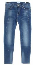 Unbranded Cotton Mid Rise Stonewashed Jeans for Women