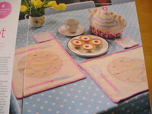 KNITTING PATTERNS FOR TEA TIME.