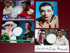 Blake's 7 - Servalan (Jacqueline Pearce) Variety of Autographed/Costume Cards