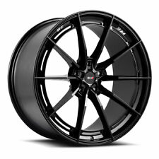"20"" SAVINI SV-F1 FORGED BLACK CONCAVE WHEELS RIMS FITS CHEVROLET CAMARO"
