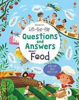 Usborne Lift-the-Flap Questions and Answers About Food by Katie Daynes RRP £9.99