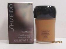 Shiseido The Makeup Fluid Foundation color O100 Very Deep Ochre 1.1 oz SPF15