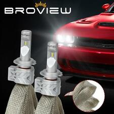 BroView S5 H7 8000LM High Beam Headlight Bulbs All in One Xenon LED For Chrysler