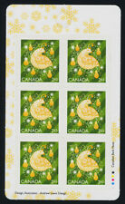 Canada new issue Booklet MNH Christmas, Partridge in a Pear tree