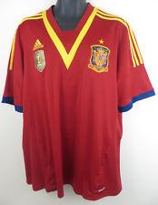 Adidas España Camiseta De Fútbol 2013 Hogar fútbol Jersey Camisa XXL para Hombre 2XL España