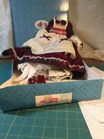"Madame Alexander Little Women Journals 16"" Doll Jo's Holiday Dress box 18760"