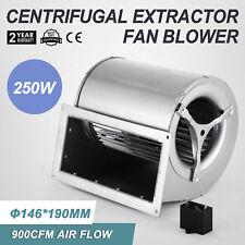 φ146*190mm Ventola Ventilatore Soffiatore Centrifugo Durable 250w 1560rpm