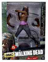 """THE WALKING DEAD TV DELUXE 10"""" INCH ACTION FIGURE MICHONNE DELUXE EDITION"""