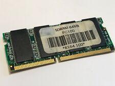 64MB PC100 144 PIN SODIMM LAPTOP MEMORY                              fba10a26
