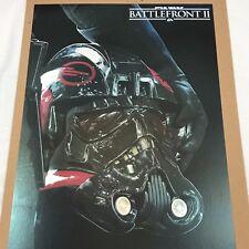 Disney Ltd Ed poster - STAR WARS-BATTLEFRONT II/2 - No. 7287 - D23 Expo 2017-NEW