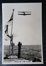 Blackburn Dart Torpedo Bomber   HMS Courageous     Vintage Photo Card