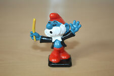 Original Papa Conductor Smurf 2.0092 Schtroumpfe Schlumpfe Puffi Good Condition