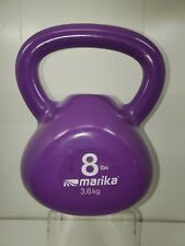 8lb Kettlebell Fitness Weight Lifting At Home Gym Exercise