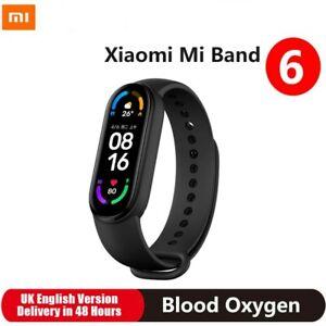 Original Xiaomi Mi Band 6 Amoled Smart Watch 5ATM Waterproof Heart Rate Monitor