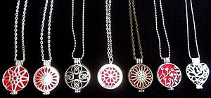 Diffuser Necklace Essential Oil Locket Necklace Aromatherapy