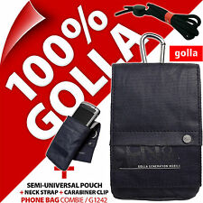 Golla Blue Phone Case Pouch Bag for iPhone 4S 5S SE Samsung Galaxy S2, S4 Mini