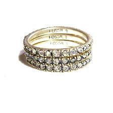 Size 17 Fossil Ladies Ring Silver 54 (17,2 mm ø) JA5727797508