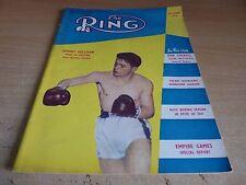 RIVISTA VINTAGE Boxe-L' ANELLO-Settembre 1954-JOHNNY Sullivan.