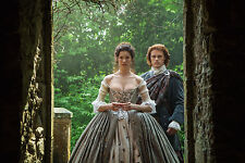 12x18 Panoramic High Luster Outlander Claire Randall and Jamie Wedding Scene