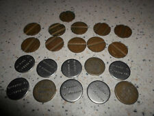 big lot of 21 Italy Street Phone Jeton chip Token Gettone Telefonico & other
