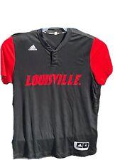 Louisville Cardinals Adidas Climacool Mens Basketball/Baseball Jersey XL