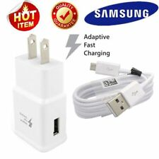 Samsung Galaxy S6 S7 Edge Note 4 Note 5 Adaptive Fast Rapid Charger/w cable