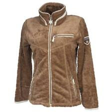 Manteaux et vestes marron polaires polaire pour femme