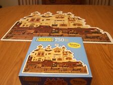 Derby Square Charles Wysocki Americana 750 Piece Shaped Puzzle Complete 2003 USA