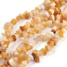 ca 220 Perlen aus Fluorit Halbedelstein Nuggets 4-14mm Strang 80cm E047