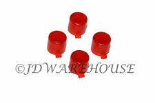 Clear Red PS3 Controller Buttons Parts Set