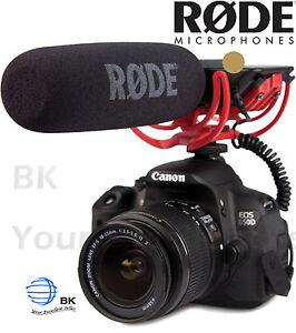 RODE VideoMic Shotgun Microphone for DSLR with 3.5mm Jack