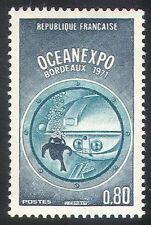 France 1971 Submarine/Boat/Diver/Diving/Ocean Expo/Nautical/Transport 1v n23279