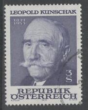 AUSTRIA SG1803 1978 LEOPOLD KUNSCHAK(POLITICIAN) FINE USED