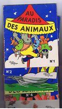 Au Paradis des Animaux. 10 volumes. SAINT-OGAN 1956.