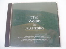 Melbourne WELSH MALE CHOIR - RARE OZ CD