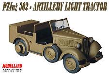 PZInz 302- WW II CARRIER & LIGHT TRACTOR (POLISH ARMY 1939 MKGS) 1/35 MODELLAND