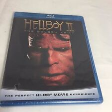 Hellboy II The Golden Army Blu-ray Disc 2008 New Factory Sealed!