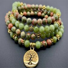 6mm Jasper 108 Beads Mala Buddhist Bracelet Necklace Chakra Cheaply Buddhism